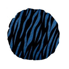 SKN3 BK-MRBL BL-PNCL Standard 15  Premium Flano Round Cushions