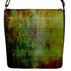 Grunge texture               Flap Closure Messenger Bag (S)