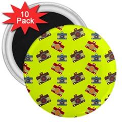 Camera pattern                3  Magnet (10 pack)