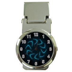 Background Abstract Decorative Money Clip Watches