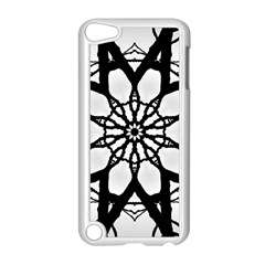 Pattern Abstract Fractal Apple Ipod Touch 5 Case (white) by Nexatart