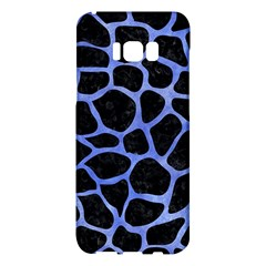 Skin1 Black Marble & Blue Watercolor (r) Samsung Galaxy S8 Plus Hardshell Case  by trendistuff