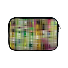 Woven Colorful Abstract Background Of A Tight Weave Pattern Apple Ipad Mini Zipper Cases by Nexatart