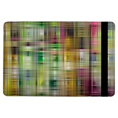 Woven Colorful Abstract Background Of A Tight Weave Pattern Ipad Air Flip by Nexatart