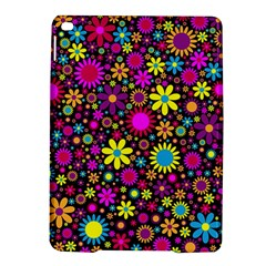 Bright And Busy Floral Wallpaper Background Ipad Air 2 Hardshell Cases by Nexatart