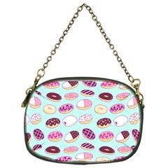 Donut Jelly Bread Sweet Chain Purses (one Side)  by Mariart
