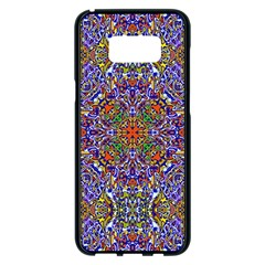 Oriental Pattern 01a Samsung Galaxy S8 Plus Black Seamless Case by MoreColorsinLife