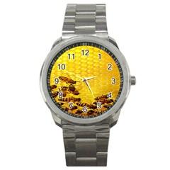 Sweden Honey Sport Metal Watch