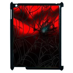 Spider Webs Apple Ipad 2 Case (black) by BangZart