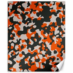 Camouflage Texture Patterns Canvas 16  X 20   by BangZart
