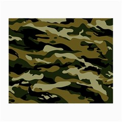 Military Vector Pattern Texture Small Glasses Cloth (2 Side) by BangZart
