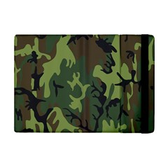Military Camouflage Pattern Ipad Mini 2 Flip Cases by BangZart