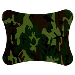 Military Camouflage Pattern Jigsaw Puzzle Photo Stand (bow) by BangZart