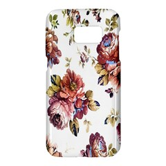 Texture Pattern Fabric Design Samsung Galaxy S7 Hardshell Case  by BangZart