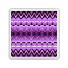 Purple Pink Zig Zag Pattern Memory Card Reader (square)  by BangZart