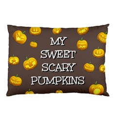 Hallowen My Sweet Scary Pumkins Pillow Case (two Sides)