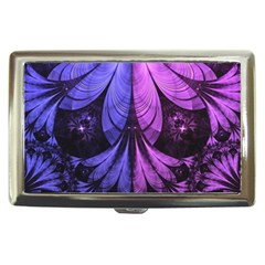 Beautiful Lilac Fractal Feathers Of The Starling Cigarette Money Cases by beautifulfractals