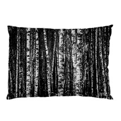 Birch Forest Trees Wood Natural Pillow Case (two Sides)