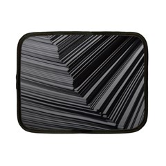Paper Low Key A4 Studio Lines Netbook Case (small)  by BangZart