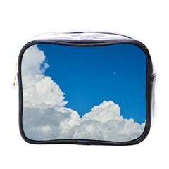 Sky Clouds Blue White Weather Air Mini Toiletries Bags by BangZart