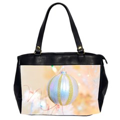 Sphere Tree White Gold Silver Office Handbags (2 Sides)  by BangZart