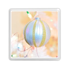 Sphere Tree White Gold Silver Memory Card Reader (square)