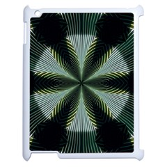Lines Abstract Background Apple Ipad 2 Case (white) by BangZart