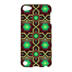 Pattern Background Bright Brown Apple Ipod Touch 5 Hardshell Case by BangZart