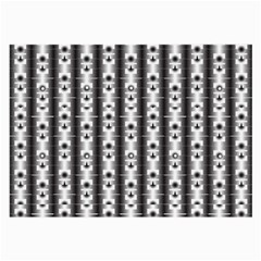 Pattern Background Texture Black Large Glasses Cloth by BangZart