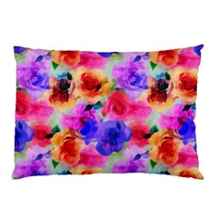 Floral Pattern Background Seamless Pillow Case (two Sides)