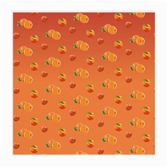 Peach Fruit Pattern Medium Glasses Cloth
