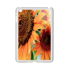 Sunflower Art  Artistic Effect Background Ipad Mini 2 Enamel Coated Cases by BangZart