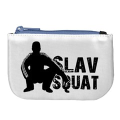 Slav Squat Large Coin Purse by Valentinaart