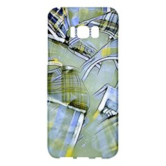 Another Modern Moment Yellow Samsung Galaxy S8 Plus Hardshell Case  by MoreColorsinLife