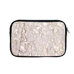 Off White Lace Pattern Apple Macbook Pro 13  Zipper Case
