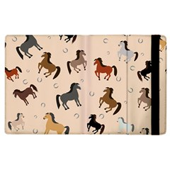 Horses For Courses Pattern Apple Ipad 2 Flip Case by BangZart