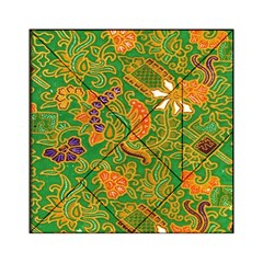 Art Batik The Traditional Fabric Acrylic Tangram Puzzle (6  X 6 ) by BangZart