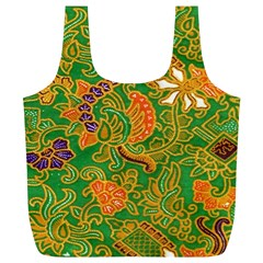 Art Batik The Traditional Fabric Full Print Recycle Bags (l)  by BangZart