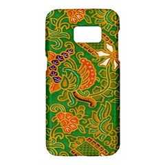 Art Batik The Traditional Fabric Samsung Galaxy S7 Hardshell Case  by BangZart