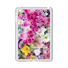 Colorful Flowers Patterns Ipad Mini 2 Enamel Coated Cases by BangZart