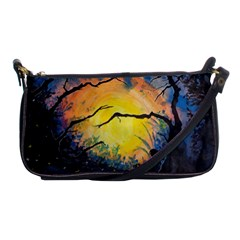 Soul Offering Shoulder Clutch Bags by Dimkad