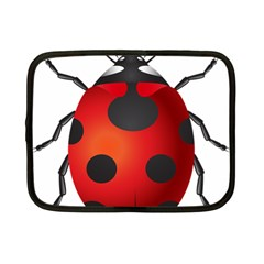 Ladybug Insects Netbook Case (small)  by BangZart