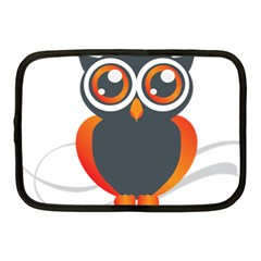 Owl Logo Netbook Case (medium)  by BangZart