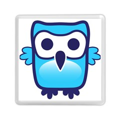 Owl Logo Clip Art Memory Card Reader (square)