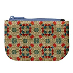 Traditional Scandinavian Pattern Large Coin Purse by BangZart