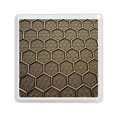 Texture Hexagon Pattern Memory Card Reader (square)