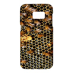 Queen Cup Honeycomb Honey Bee Samsung Galaxy S7 Hardshell Case  by BangZart