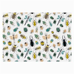 Insect Animal Pattern Large Glasses Cloth by BangZart