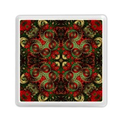 Fractal Kaleidoscope Memory Card Reader (square)