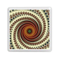 Fractal Pattern Memory Card Reader (square)